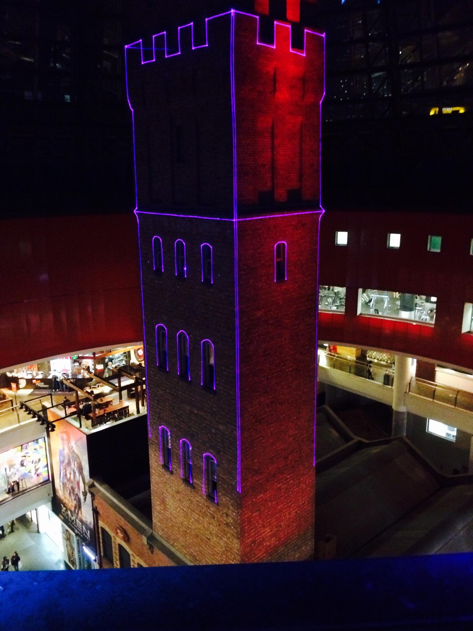 Melbourne Shot Tower - Installation